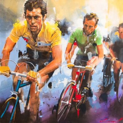 Bernard Hinault maillot jaune
