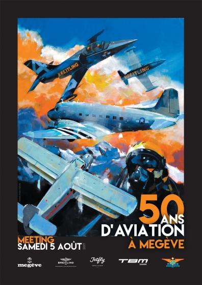 Meeting Aérien Megève - 50 d'aviation à Megève