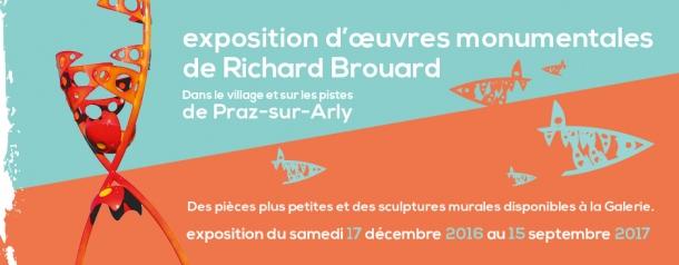 Exposition sculptures monumentales Richard Brouard