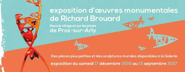 Exposition sculptures monumentales Richard Brouard