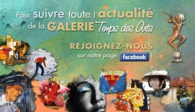 La Galerie Temps des Arts est sur Facebook